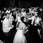 The best ever wedding dance floor.