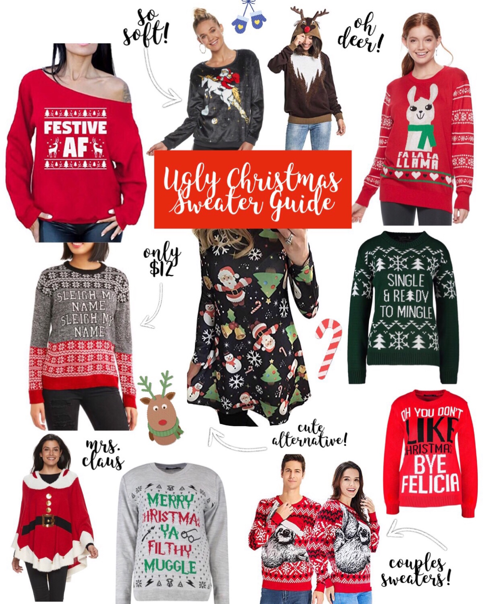 Gift Guide – Ugly Christmas Sweaters