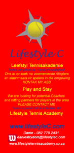 coaching-opportunity Lifestyle C / Leefstyl C