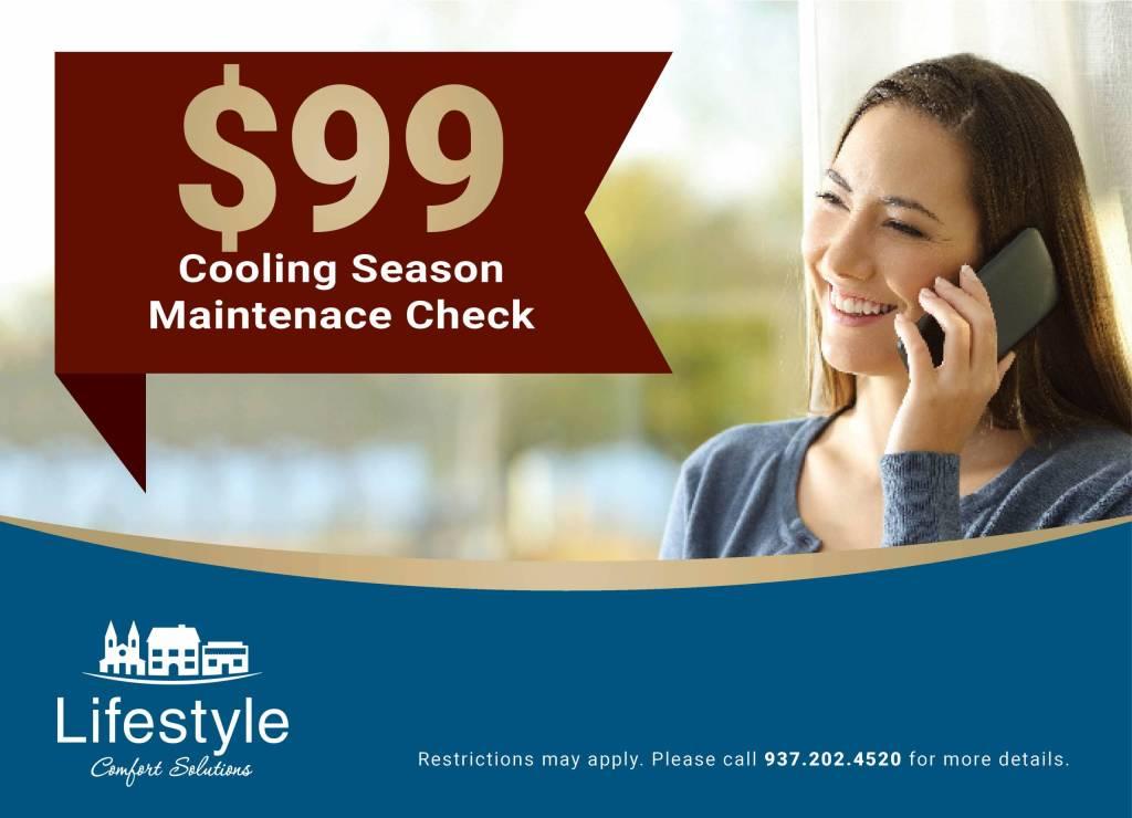 Cooling Season Maintenance Check