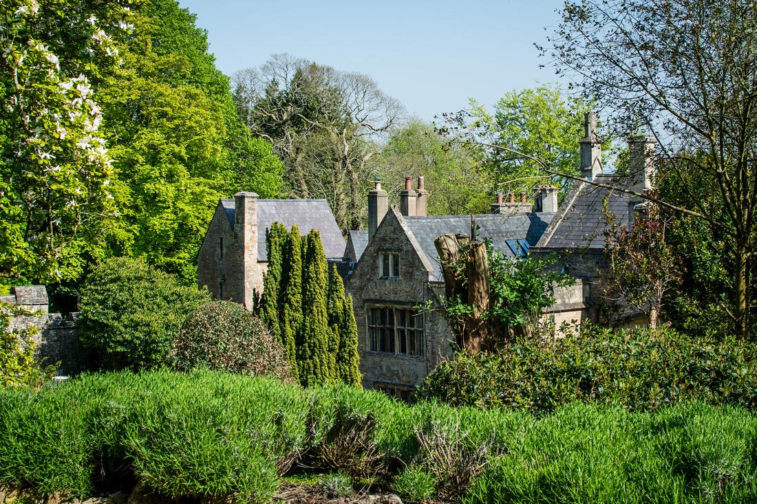 Clevedon Court's terraced garden is a hidden gem