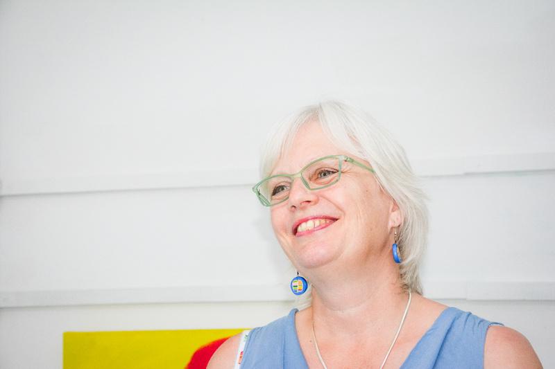 Bristol based artist Angie Kenber