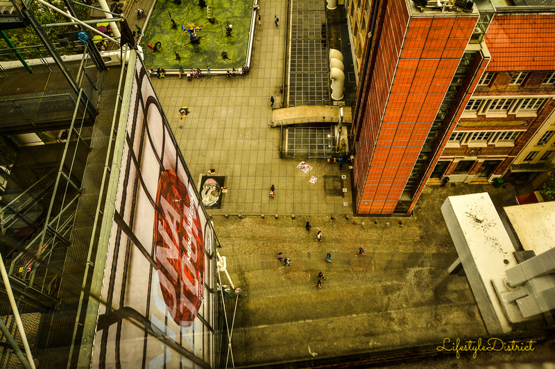 Lifestyle District | Photos from the top of the Pompidou Centre