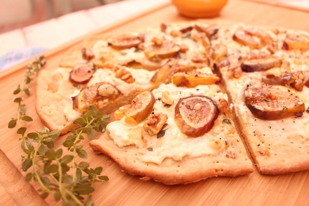 Ricotta Fig Dessert Pizza