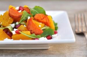 Pumpkin Pomegranate Salad