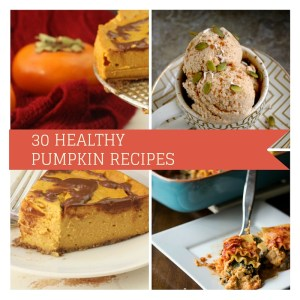 30 Healthy Pumpkin Recipes