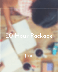 20 Hour Package