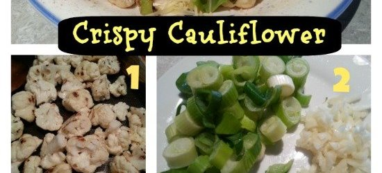 Crispy Cauliflower Recipe