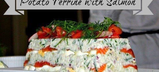 Easy Brunch Recipes : Potato Terrine with Salmon