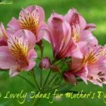10 lovely ideas for Mother's Day