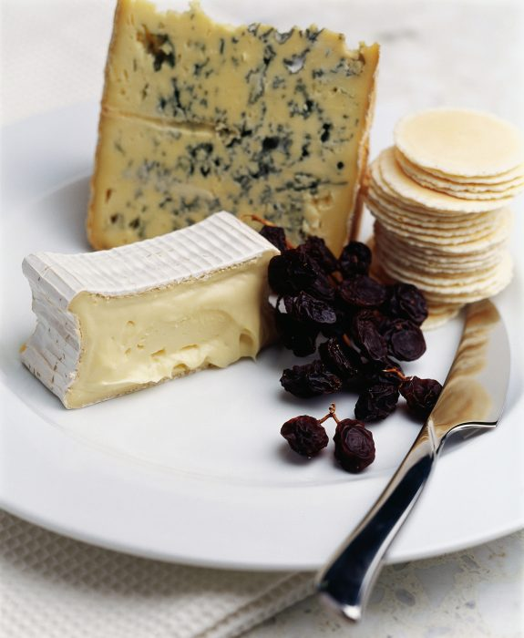 Healthy cheese snacks, pics of blue and brie