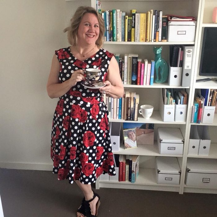 How to look slimmer than you really are, Janet Camilleri