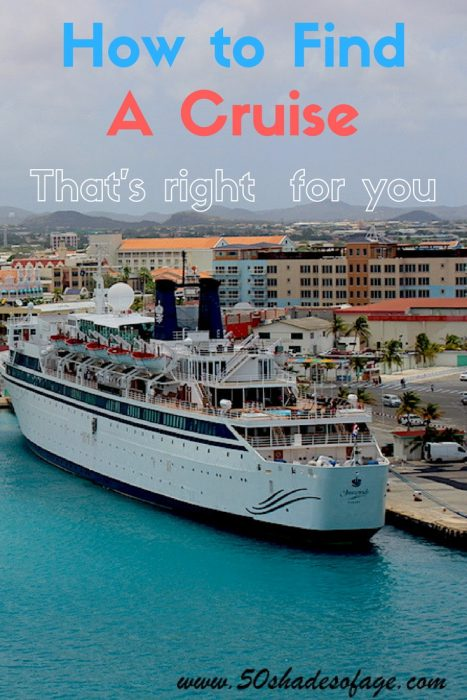 How to find a cruise that's right for YOU!