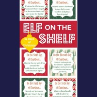 Elf on the Shelf and the Twelve Days of Christmas