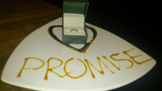 My boyfriend is so sweet! Surprised me with this about 4 years ago at Moxies <3