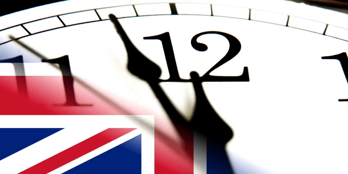 Brexit Clock Ticking Countdown