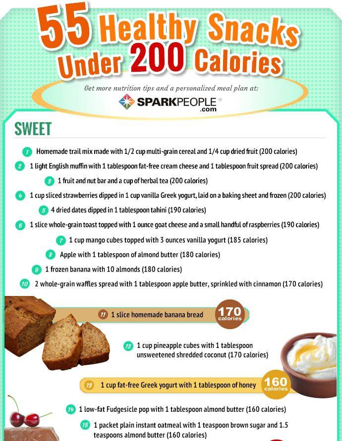 Example snacks