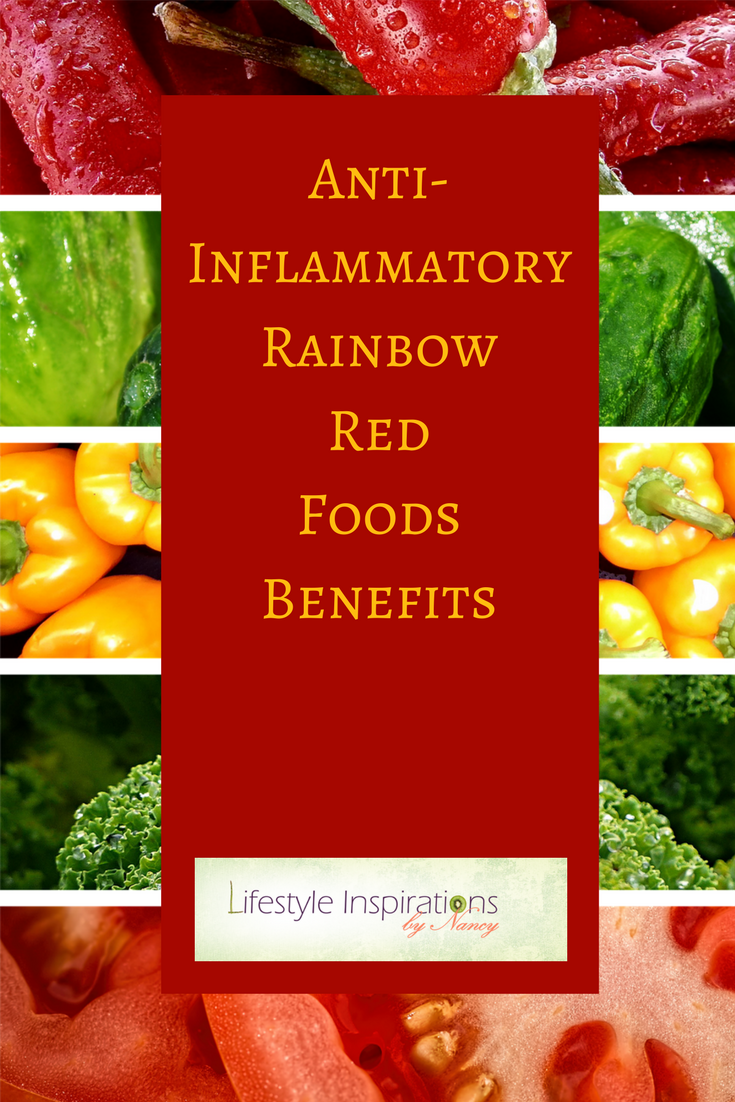 anti-inflammatory red foods
