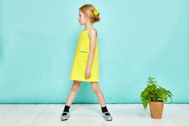 dress, £57, shoes, £39