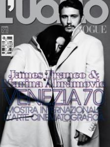 Marina con James Franco