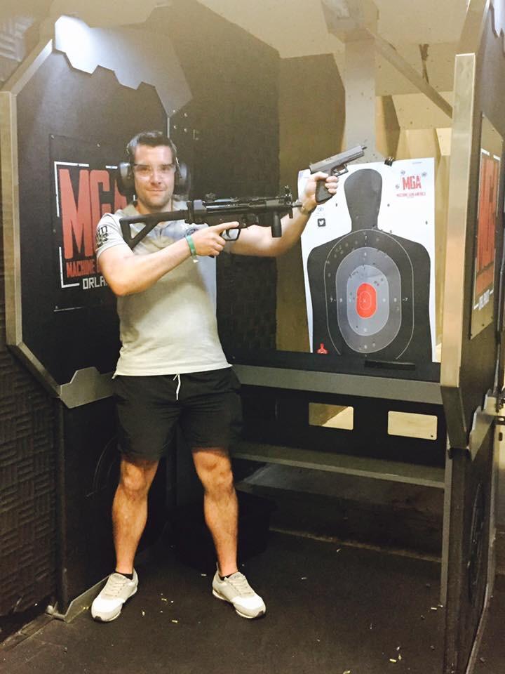 Machine Gun America (My Florida Adventures)
