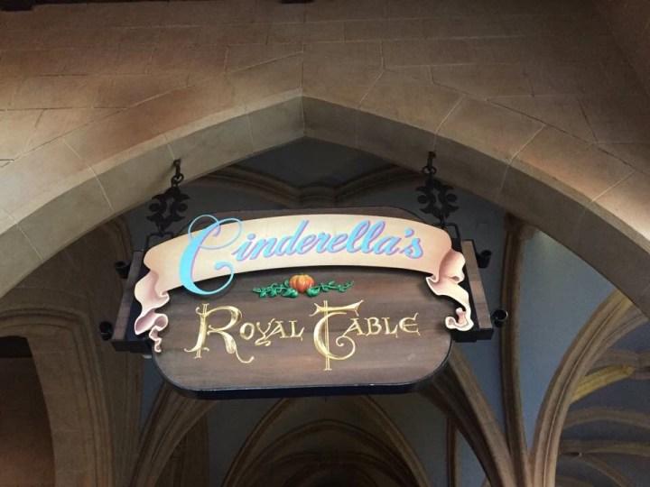 Day 1- Magic Kingdom,Cinderella's Royal Table and Festival Of Fantasy.