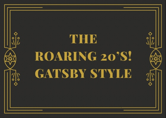 Back to the Roaring 20's