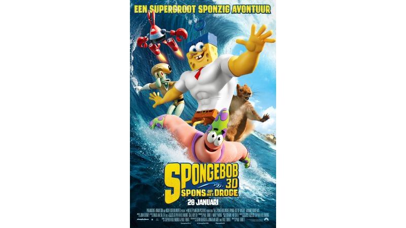 SpongeBob 3D: Spons op het Droge