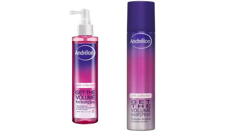 Andrélon Pink Get The Volume