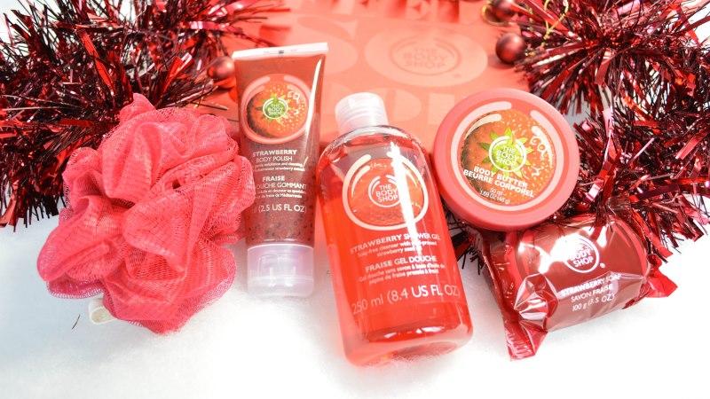 The body shop kerst 2015 strawberry festive picks