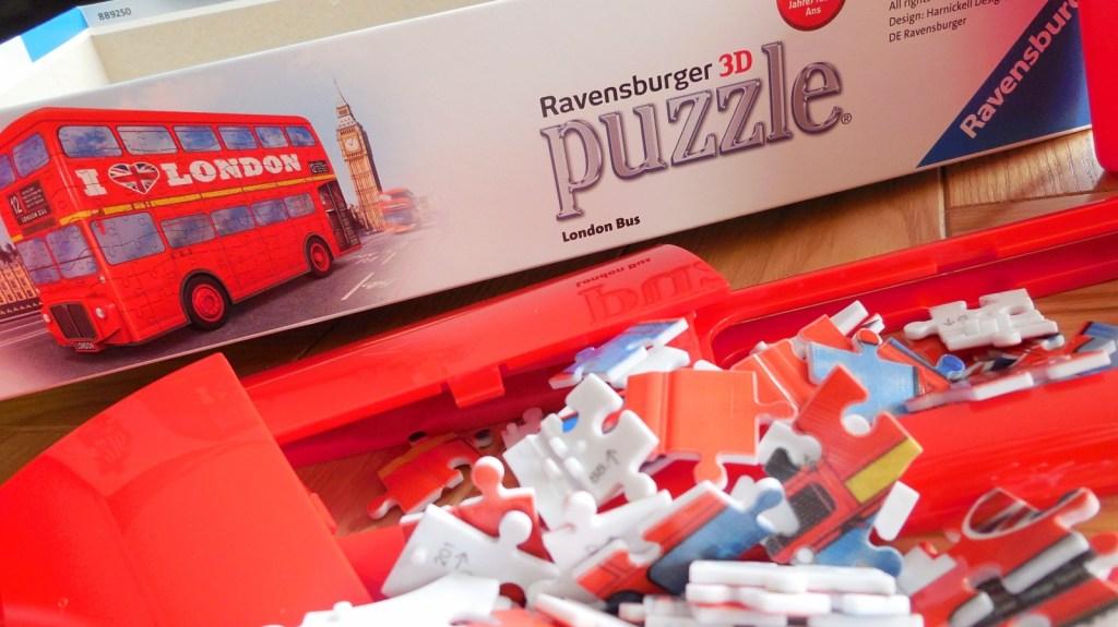 3d puzzel london bus