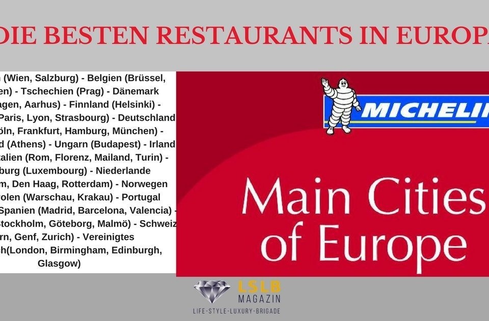 michelin main cities of europe