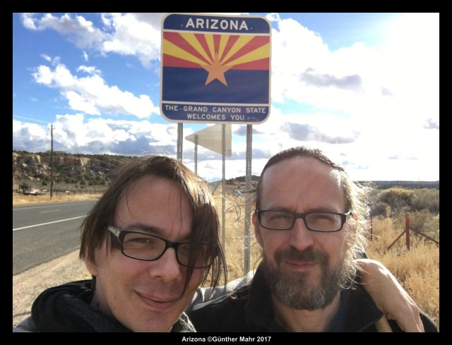 Welcomesign Arizona Selfie