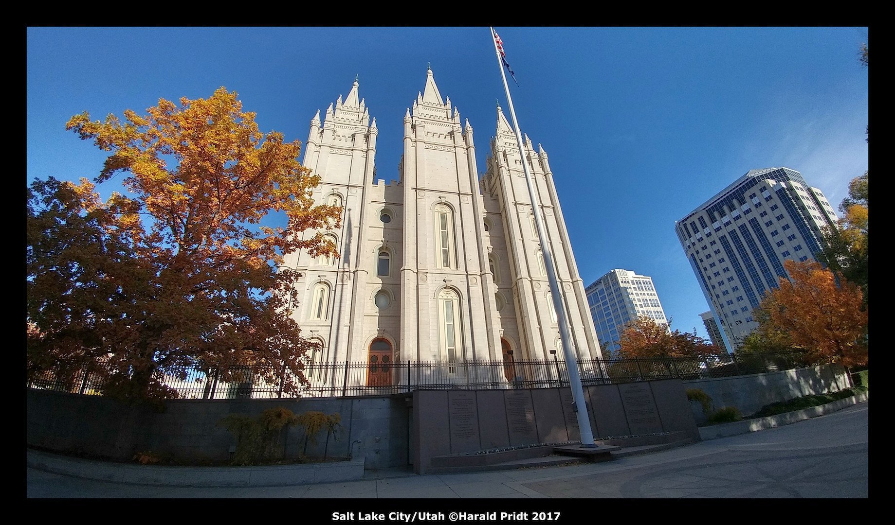 USA Road Trip Quer Etappen Salt Lake City Utah