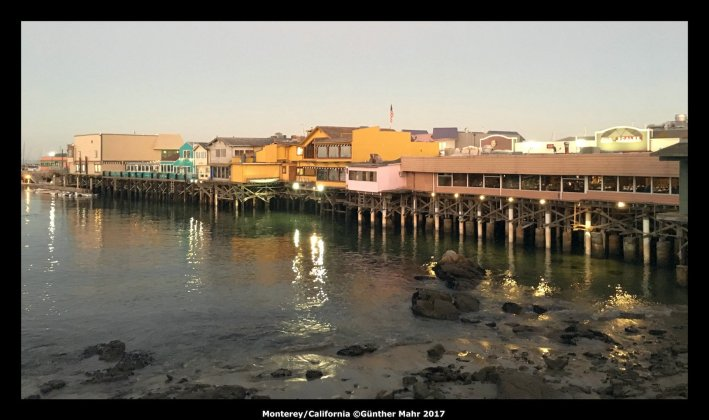 USA Road Trip Quer Etappen California Monterey