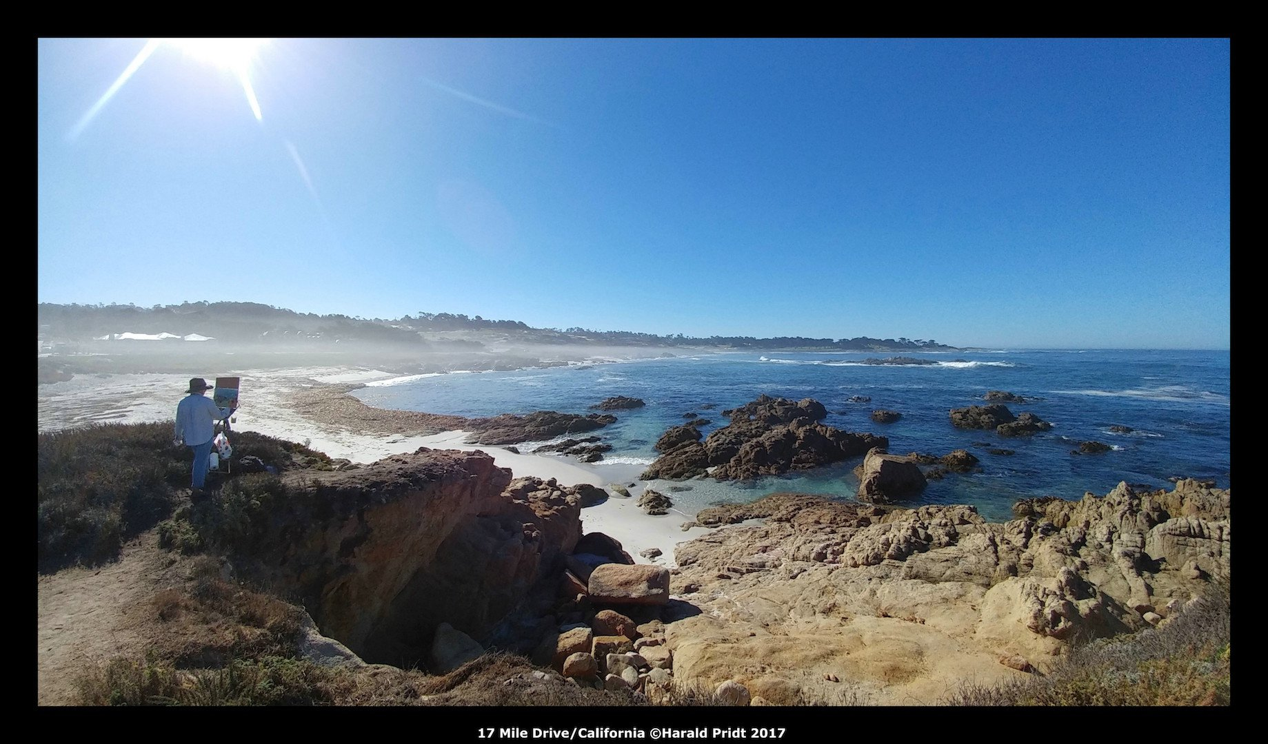 USA Road Trip Quer Etappen California 17 Mile Drive