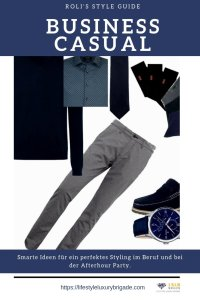Business Casual Styl Guide