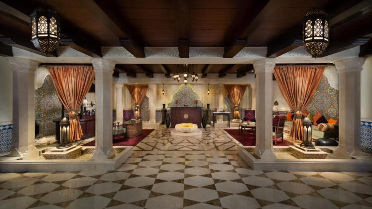 Emirate Palace Spa Eingang