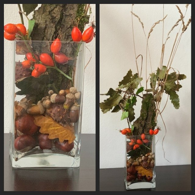 DIY fall decoration