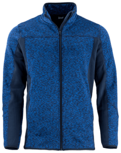 Sportive Jacket blue with zip