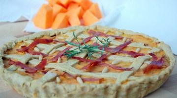 Antipasti: crostata salata di zucca