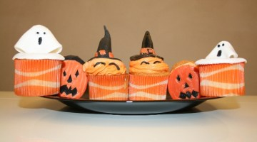 Dolce Halloween: Cupcakes stregati