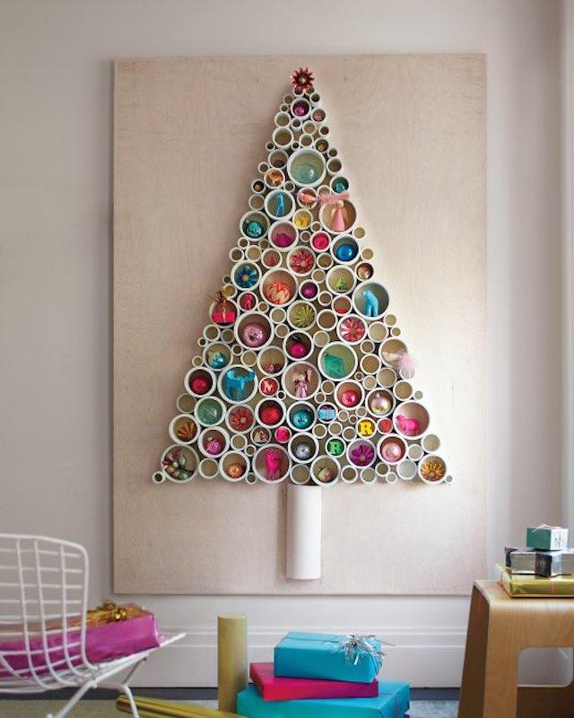 Albero Di Natale Legno Fai Da Te.Idee Albero Di Natale Fai Da Te Tra Carta Legno E Soluzioni