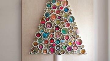 Idee albero di Natale fai da te: tra carta, legno e soluzioni sorprendenti
