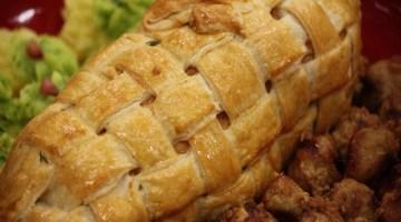 Idee menù pranzo di Natale: arrosto di vitello in crosta di pane