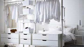 Cabina armadio fai da te: le idee per sfruttare tutti gli spazi