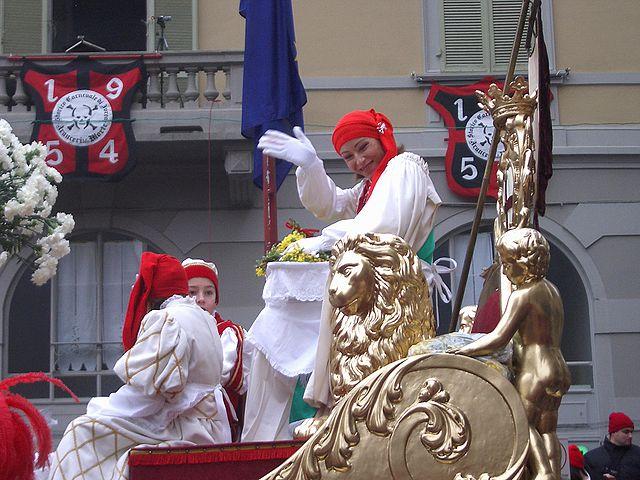 Mugnaia Carnevale di Ivrea
