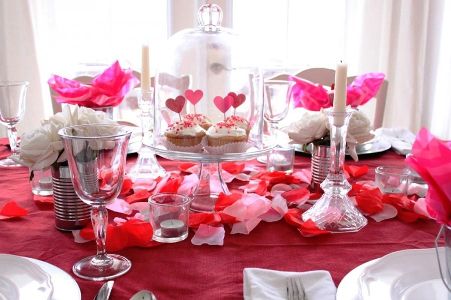 12 idee per la tavola di san valentino il romanticismo - Idee tavola san valentino ...