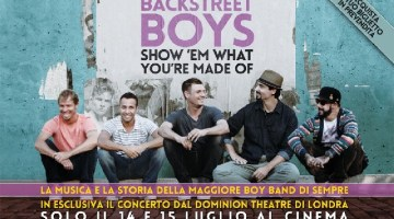 Backstreet Boys – il film: Show 'Em What You're Made Of – la recensione