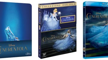 Cenerentola live action: dal 26 Agosto in Blu-Ray e DVD